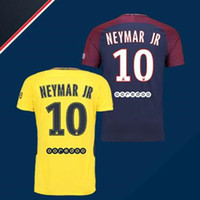 9dbaa2f5e player version NEYMAR JR 17 18 Soocer Jersey VERRATTI T.SILVA DI MARIA  CAVANI Soccer Jerseys 17 18 football shirts best thai quality2017 18 ...