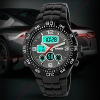 Wholesale Diving Watches Man - Skmei watch men luxury brand LED Digital Watches Quartz Watches Sport dive 50m Stainless Steel Multifunction Military Wristwatch