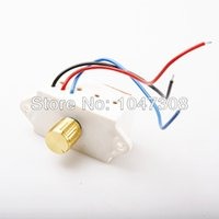 Wholesale 4a Motor - Wholesale-2pcs New 12V PWM DC Motor Speed Control 4A AMP 6.5V-13V VOLT 50w Controller Switch 3 Wire free shipping