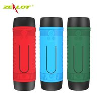 Wholesale Mp3 Player Vibration - Bluetooth Mini Speaker Bicycle Speaker Bike Vibration Powerful Portable Subwoofer Blutooth speakers Water Resistant Powerbank FM Radio
