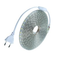 Wholesale outdoor string free shipping for sale - Group buy 220v led flexibe tape SMD5050 led strip With Power EU plug Led M IP67 Waterproof outdoor Home decoration string lighting