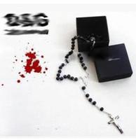 Wholesale Gold Crystal Rosary - Hot sale MEN'S BECKHAM ROSARY MEN FASHION PENDANT NECKLACE
