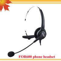 Wholesale Earphone Call Center - Professional call center headset direct with RJ09 plug , Call center corded phone headset with RJ09 plug for call center telephone earphone