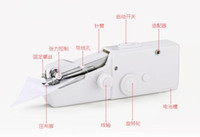 Wholesale Mini Sewing Machine Portable Handheld Cordless Stitch Hand Held Clothes Electric Sewer Easy To Use