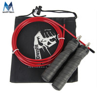 Wholesale Crossfit Speed Ropes Wholesale - Wholesale-Quality Adjustable Jump Rope Best for CrossFit Training MMA Boxing WOD Speed Rope Exercise and Fitness Black