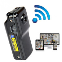 câmara de vídeo exterior dv venda por atacado-MD81S Wi-fi Mini Câmera Filmadora IP P2P Mini DV Câmera Sem Fio Gravação De Segurança Filmadora De Vigilância Por Vídeo Webcam Android iOS MOQ; 5 PCS