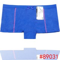 Wholesale Promotion Sexy Lingerie - Wholesale-Promotion Lady sport underwear Plain Cotton women boxer short stretch lady panties women boyshort lingerie intimate undergarment