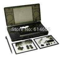 Wholesale Nintendo Ds Housing Shell - Black Full Repair Parts Replacement Housing Shell Case Kit for Nintendo DS Lite NDSL kit fan