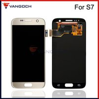 Wholesale Screen Replacement Repair Lcd Galaxy - Grade A+++ Original LCD For Samsung Galaxy S7 SM-G930A SM-G9300 Display Touch Screen Digitizer Assembly Replacement Repair