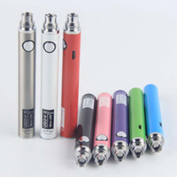 Wholesale E Cig Pen Battery - Newest 510 eVod 650 900 mAh Vape Pen Batteries Micro USB UGO V II 2 E Cig Threading Battery