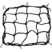 Wholesale Motorcycle Bike ATV Bungee Tank Helmet Web Cords Mesh Cargo Net Hook M00004