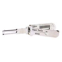 hu66 al por mayor-NUEVO modelo Super Tools HU66 v.3 Decoder 2-In-1 Lock Pick para VW Auto Locksmith Tool