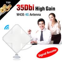 conector de antena de cable al por mayor-Al por mayor-2M Cable 4G 35dBi TS9 para Huawei E5756 E3276 E392 E398 E660A antena del conector EL4527