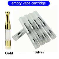 Wholesale Empty Glass Atomizer - 2017 disposable vape tank cartridge 510 thread touch ce3 style vape atomizer oil vaporizer cartridge empty with .3ml .5ml 0.8ml 1.0ml