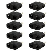 Wholesale travel adapters online – Hot Selling US USA to EU Euro Europe Power Jack Wall Plug Converter Travel Adapter