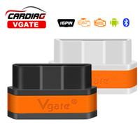 vgate icar2 bluetooth toptan satış-Wholesale-2016 Yeni Varış Vgate iCar2 Bluetooth OBD Tarayıcı iCar 2 elm327 Bluetooth Teşhis Arayüz 8 renk isteğe bağlı