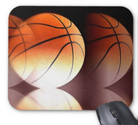 Wholesale Mouse Pad Ball - Basketball Ball Mouse Mat Non-Slip Rubber Mouse Pad