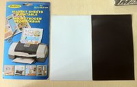 Wholesale Photo Print Paper Sizes - 10pcs pack Magnetic printing paper A4 size, magnetic paper,photo paper of magnet