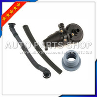 Wholesale radiator hoses online - auto parts Set pc Crankcase Oil Separator PCV Vent Valve Kit Breather Hose for BMW E36 E39