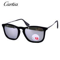 Wholesale Velvet Frame - Carfia New Erika Velvet Fashion Sunglass Vintage Sunglasses Women Brand Designer Sun Glasses square 4187 glasses Oculos de sol Feminino