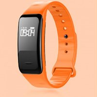 Wholesale High Pulse - New High Quality C1 Smart Band Bluetooth 4.0 Sports Monitor Smart Bracelet IP67 Waterproof Smart band 6 Colors