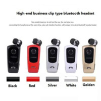 Wholesale Mp4 Drivers - FineBlue F920 Wireless auriculares driver Bluetooth Headphone in-ear earphone Calls Remind Vibration Wear Clip Headset For phone