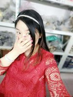 Wholesale Hair Headbands For Cheap - Newest Cheap Silver Color Rhinestones Headbands Fashion Crystal Hair band For Women Latest Hair Accessory For Girls From China