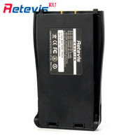 Wholesale Two Way Radios For Sale - 2Pcs Hot Sale BF-888S Retevis H777 Li-ion Battery DC 3.7V 1500mAh For Walkie Talkie Retevis H777 Baofeng 888S Two Way Radio RU