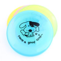 2017 Hot Sell Flying Discs Dog Com Um Frisbee Pet Dog Para Frisbee Dog Toy Entretenimento Ou Treinamento