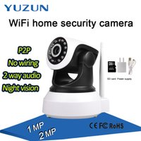 Wholesale Wifi Dome Camera Ptz - Mini 1MP 2MP WIFI IP robot ptz Camera P2P Low Cost SD Card Wireless Internet speed dome Camera for Home