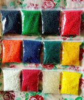 chargeurs de vases d'eau achat en gros de-13 couleurs de perles d'eau, Gel de perles d'eau de sol en cristal, Remplisseur de vase de décoration de mariage - Remplisseur de vase décoratif pour meubles