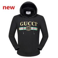 Wholesale Luxury Duck - Fashion Italy Designer G & G hoodies for men women Luxury Brand Donald Duck Tiger Print Men's Hoodies & Sweatshirts Palace mens hoodie Label