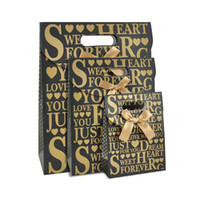 Wholesale Custom Die Cuts - Luxury Full Color Printed Die Cut Handle Paper Bags Used For Gift Packaging Or Promotion Paper Shopper Custom Design Printing Available
