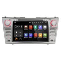 Wholesale special car dvd gps online - Joyous Double Din Quad Core quot Android Car DVD Player GPS Navigation For Toyota Camry HD Head Unit Car Stereo