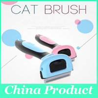 Wholesale Pet Dog Cat Brush Fashion Hair Comb Grooming Cleaning Pets Products colors Pet Supplies Products