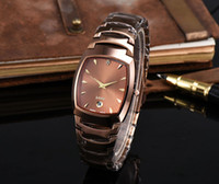 Luxury Men's Complete Calendar Lady Style Quartz Watches girls love Charm watch women simple Famous brand aaa luxury Ladies Square Dial Fashion Wristwatches free shipping