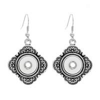 индийская модная мода оптовых-Серьги на кнопках 12мм, крест из цинкового сплава Серьги на кнопках 12мм в украшениях для женщин