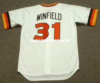 Dave Winfield San Diego Padres 1980 Majestic Cooperstown casa baseball Jersey