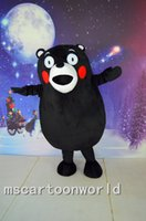 Wholesale Popular Character Mascot Costume - 2016 High Good quality Kumamon Mascot Costume Popular Cartoon Character Costume For Adult Fancy Dress Party Suit