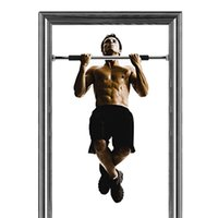 Wholesale Chin Up Bar Door Gym - Wholesale-horizontal bar BarsIndoor Doorway Multi Purpose Indoor Gym Pull Up Chin Ups Door Bar Frame Gym Exercise Fitness CHIN UPS SIT UPS
