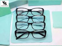 Wholesale-SUPER SUNG Mode-Glasrahmen Four Leaf Clover Frauen Diamant-Stil Brille Rahmen Azetatrahmen weibliche Vollrand 2091