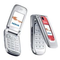 квадрантная мобильная разблокирована оптовых-Восстановленное NOKIA 6131 мобильный телефон 2,2-дюймовый экран Quad Band 2G GSM разблокирована сотовый телефон Filp