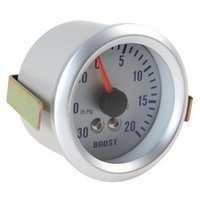"Wholesale Car 52mm - Universal 2"" Inch 52MM 0~30in.Hg   0~20PSI Auto Car Turbo Boost Gauge Meter Pressure 12V DC CEC_505"