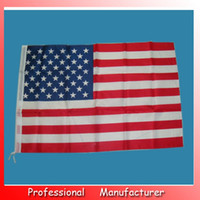 Wholesale 100pcs Jumbo cm Printed American Confederate polyester Flag x5 Flag United States Flag USA Flag