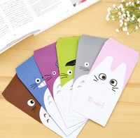 Wholesale Letter Stationary - Wholesale-5 pcs pack Novelty My Neighbor Totoro Envelope Message Card Letter Stationary Storage Paper Gift