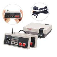 Wholesale Game Machines - Mini Game Machine Retro Classic Game Mini TV Handheld Game Console Entertainment System Built-in 620 Classic Games 0801101 toys