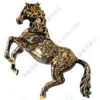 Wholesale Pakistan bronze color inch Brass Handmade art furnishings imported animal immediately
