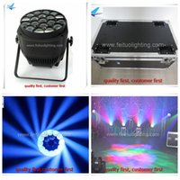 8lights + 1flight case 19 * 15w 4 в 1 rgbw bee eye led par light disco night Rotation zoom stage light pars