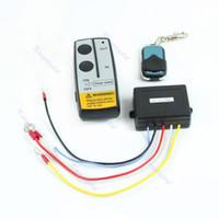 Wholesale Warn Truck Winch Wireless Remote - Wholesale-Wireless Remote Control Kit 24V Handset For Truck Jeep ATV SUV Winch Warn Ramsey