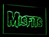C069 Misfits LED Neon Sign Vente en gros Dropshipping Cheap dropship fashion Haute qualité dropship gps Chine dropship posters Fournisseurs